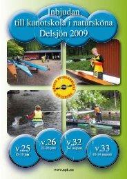 till kanots i K Inbjudan till kanotskola i ... - IdrottOnline Klubb