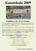 till kanots i K Inbjudan till kanotskola i ... - IdrottOnline Klubb - Page 2