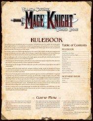 Rulebook - WizKids Games
