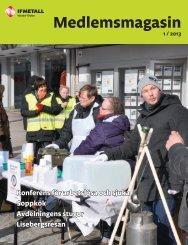 Medlemsmagasin 2013-1 - IF Metall