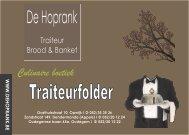 Traiteurfolder 2012-2013 - De Hoprank