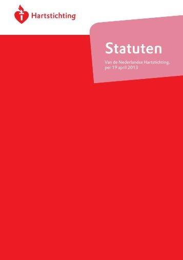 Statuten - Nederlandse Hartstichting