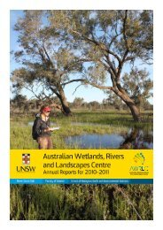 AWRLC 2011-2012 Annual Report - The Australian Wetlands ...