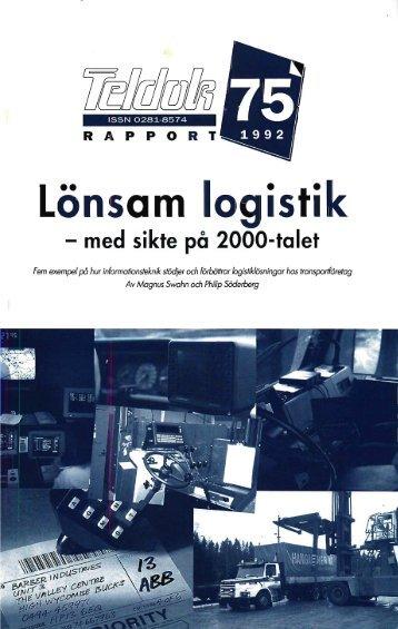 Lönsam logistik - Teldok