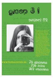 project van het cultureel educatief project Groep 8! - Cultuurbasis