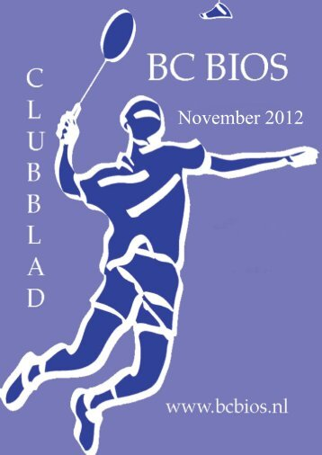 Clubblad November 2012 - Bc Bios