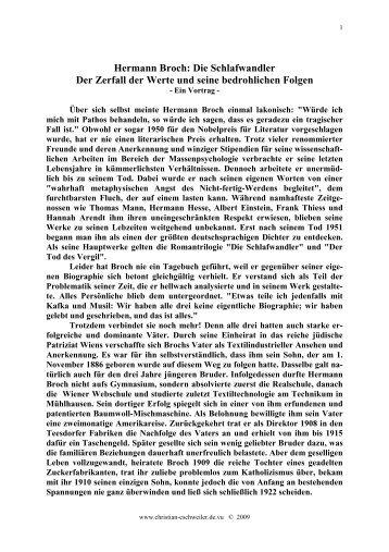 Schlafwandler - Christian-Eschweiler.com