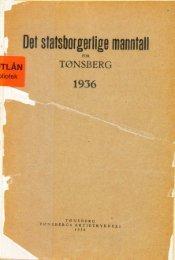 Det statsborgerlige manntall for Tønsberg 1936