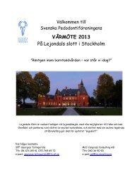 Vårmötet 2013, sista anmälningsdatum 2 april 2013.pdf - Svenska ...