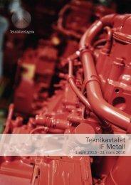 Teknikavtalet IF Metall 2013-2016