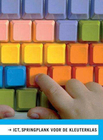 ICT, springplank voor de kleuterklas - Scholengroep 24
