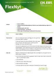 Flex-Nyt uge 34 2012 - Jysk Landbrugsrådgivning