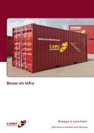 Klik hier voor onze bouw, industrie ... - CARU Containers