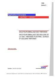 Application Ferroviaire NOTICE ACHAT SACS POUR ... - SNCF.com