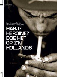 2011 Drugsbeleid