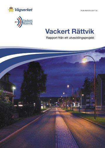 Vackert Rättvik – Rapport från ett utvecklingsprojekt - Exempelbanken