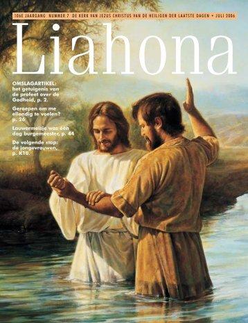 Juli 2006 Liahona