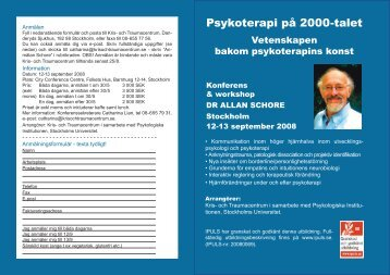 Psykoterapi på 2000-talet - Kris