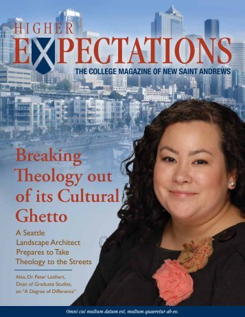 Higher Expectations Magazine, Spring 2009, Volume 3, Number 1