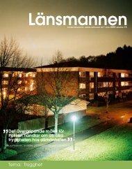 Page 1 Tema: Trygghet 1 Länsmannen 1/2009 ...