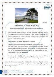 Selskabsmappe 2013 - Helnan International Hotels