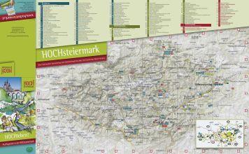 Hochsteiermark Ausflugszielekarte - Steirische Literaturpfade des ...