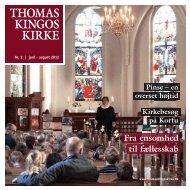 Pinse – en overset højtid - Thomas Kingos Kirke