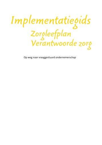 Implementatiegids - ZorgvoorKennis