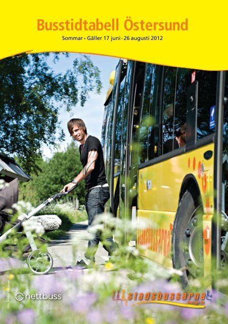 Busstidtabell Östersund - Stadsbussarna Sverige AB
