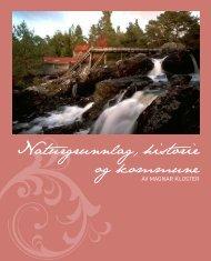 Naturgrunnlag, historie og kommune