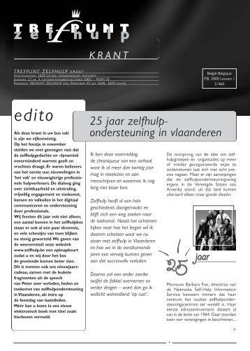 TZ-krant 23 (4) - Trefpunt Zelfhulp