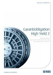 Garantiobligation High Yield 2
