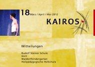 18kairosMarAprMai.pdf - Rudolf Steiner Schule Lüneburg