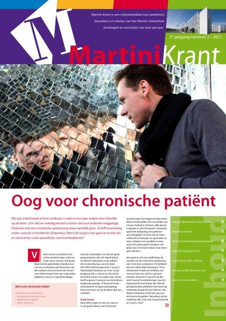 Oog voor chronische patiënt - Martini ziekenhuis