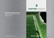 Mediadaten Business-on - zentermedia