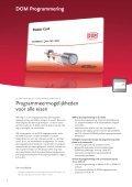 Elektronische Toegangscontrole brochure - Optilox - Page 4