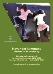 Stavanger kommune - Medvirkningsopplegg