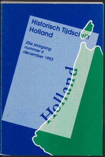 Archeologische kroniek 1992 - Geschiedenis van Zuid-Holland
