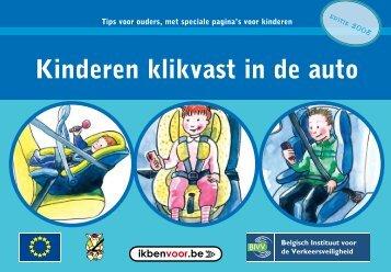 Kinderen klikvast in de auto - Ikbenvoor.be