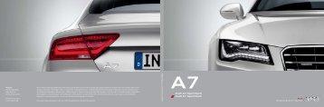 Audi A7 Sportback Audi S7 Sportback