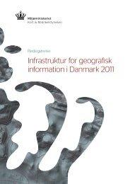 Infrastruktur for geografisk information i Danmark 2011 - Kort