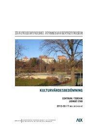 kuLturvärdesbedömning - Lidingö stad