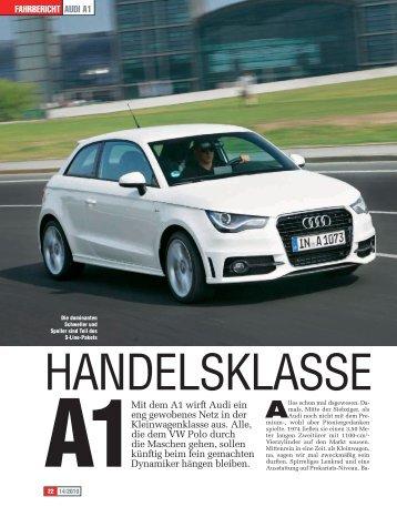 Testbericht lesen - PDF (788 kb) - Audi