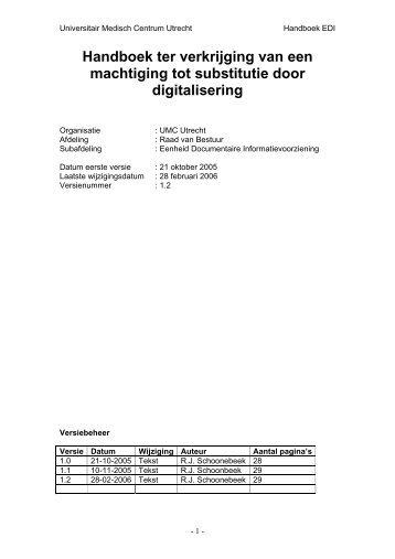 pdf voorbeeld substitutie - Nationaal Archief van de Nederlandse ...