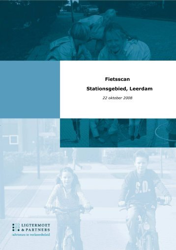 Fietsscan Stationsgebied Sliedrecht, Gouda, maart 2009. - Timenco