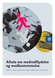 MEDaftale for Kultur- og Fritidsforvaltningen i Købehavns ... - OAO