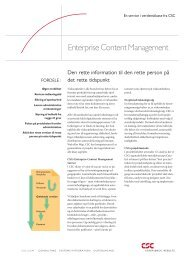 Enterprise Content Management - CSC