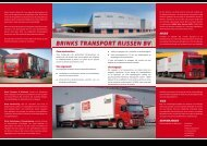 Bedrijfsbrochure Brinks Transport & Distributie - EVO