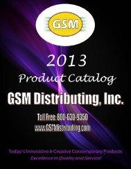 GSM2013 Working Catalog ver 9 - GSMdistributing.com