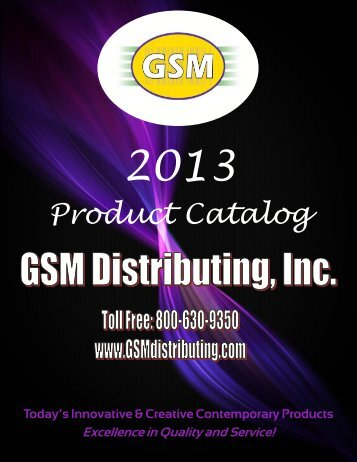 GSM2013 Working Catalog ver 9 - GSMdistributing.com